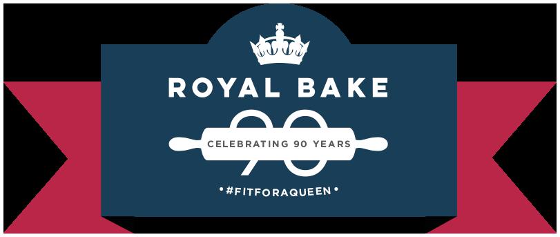 Royal Bake. Celebrating 90 Years. #fitforaqueen